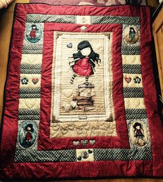 Gorjuss patchwork quilt really want to make this