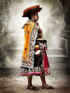 Peruvian Embroidery; Cusco, Peru~Photo series (2007 - 2012) © Mario Testino