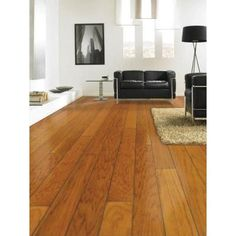 Millstead Hickory Golden Rustic 3/8 In. Thick X 4 3/4 In. Wide X Random  Length Engineered Click Hardwood Flooring (33 Sq.ft./case)
