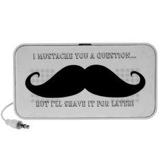 Mustache Speakers