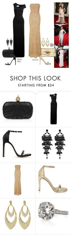 """""""2014 Grammy Awards - Part 1."""" by foreverforbiddenromancefashion ❤ liked on Polyvore featuring Emma Cook, Solace, Stuart Weitzman, Oasis, SemSem and Amrita Singh"""