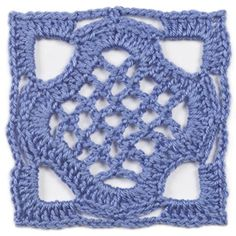 """June, part of Crochet's FREE Afghan Block of the Month. Get the download here: http://www.crochetmagazine.com/crochet_block.php?id=4  """"Like"""" the Crochet Facebook page so you don't miss a single monthly installment: https://www.facebook.com/CrochetMagazine"""