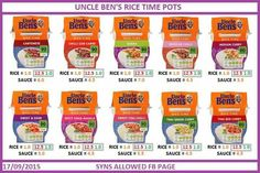 Uncle ben rice pot