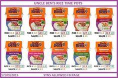Uncle ben rice pot