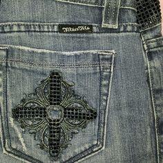 Spotted while shopping on Poshmark: Miss Me Black Stone Bootcut Jeans! #poshmark #fashion #shopping #style #Miss Me #Denim