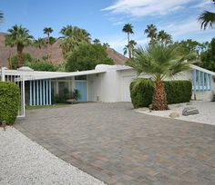 Palm Springs Modern Home - Ultra Contemporary Mid-Century with Mod Details.