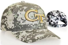 Graham Sporting Goods Digital Camo Adjustable Hat by Pacific Headwear Style Number 695C
