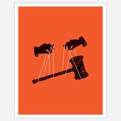 "Oliver Munday's poster print ""Secret Political Players"""