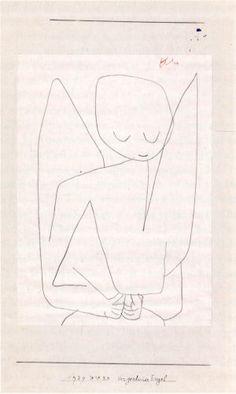 Paul Klee ~ vergesslicher Engel ~ 1939