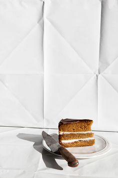 Vanilla Cake with Mascarpone Cream |Photography and Styling by Sanda Vuckovic
