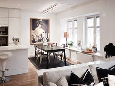 interior Scandinavian crib Delightful Scandinavian Apartment Quenching a Thirst for Neatness
