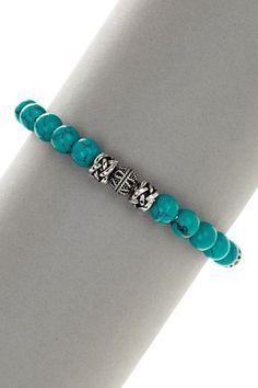 Turquoise Beaded Bracelet More