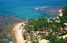 """La Praia do Forte  es conocida como """"la Polinesia brasileña"""", ubicada en el estado de Bahia, es una de las 4 playas mas maravillosas de todo Brasil."""
