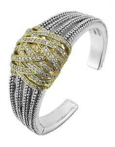 LAGOS Jewelry | Diamond Statement Bracelet     #ChicSoiree