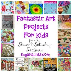 The Sugar AuntsCreative Art Projects for Kids