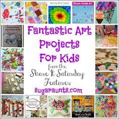 The Sugar AuntsCreative Art Projects for Kids