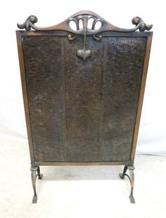 Antique Brass Bronze & Punched Tin Gothic by HarmonyGroveAntiquez