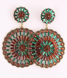 FG378 - Extra Large Earrings - Angelique
