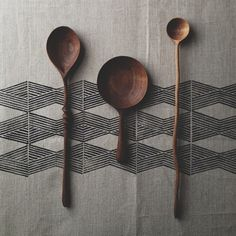 WOODEN SPOONS, shape for tattoo