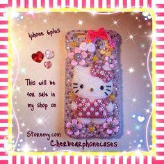 Hello kitty iPhone 6plus custom case