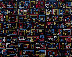 City DNA painting