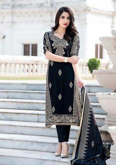 Maya Ali in black