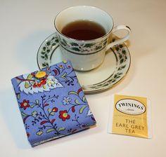 Thimbles, Bobbins, Paper and Ink: Teabag organizer tutorial