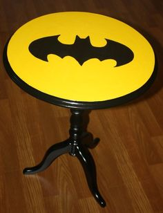 This side table. | Community Post: 28 Geeky Items Every Batman Fan Needs