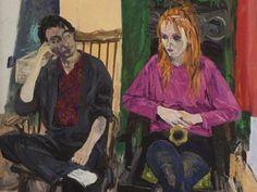 Jean Cooke, Cinema Paradiso, c. 1980s, Oil on board, 120 x 89.5 cm 47 1/4 x 35 1/4 in
