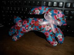 Sewing, Pillow-Bunny, Hand-made