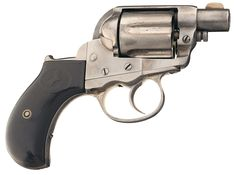 """Extremely Rare Documented Colt Model 1877 """"Thunderer"""" Ejectorless Revolver with Extremely Rare 1 1/2 Inch Barrel with Factory Letter Cal 41 Long Colt"""