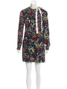 Valentino Floral Print Silk Dress - Dresses - VAL54948   The RealReal