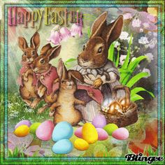 Happy Easter Gif, Serene Silhouettes, Holiday Gif, Easter Pictures, Best Novels, Small Moments, Animation, Midi Dress With Sleeves, First Photo