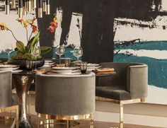 Contemporary dining room style – LuxDeco Style Guide