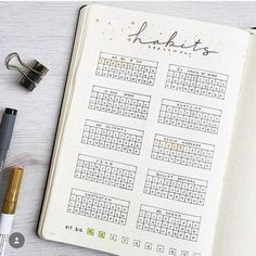 Journal Habit Tracker Layout Ideas {And why you NEED to track your habits!} Bullet Journal Habit Tracker Layout Ideas {And why you NEED to track your habits!}Bullet Journal Habit Tracker Layout Ideas {And why you NEED to track your habits! Bullet Journal Tracker, Bullet Journal Inspo, Planner Bullet Journal, Bullet Journal Spreads, Bullet Journal Titles, Bullet Journal Minimalist, Journal Pages, Bullet Journal Ideas Templates, Bullet Journal Layout Templates