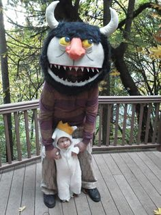 Where the wild things are costumes how-to.