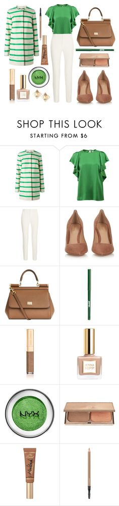 """Work day in Naples with my mum"" by fashionholli ❤ liked on Polyvore featuring L.K.Bennett, Lanvin, Roland Mouret, Gianvito Rossi, Dolce&Gabbana, jane, Charlotte Tilbury, Too Faced Cosmetics, MAC Cosmetics and Valentino"