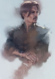 Johnny Depp is laughing now — spyrale: Johnny Depp by Singhooi Lim Johnny Depp Fans, Here's Johnny, U2 Poster, Fangirl, Hollywood, Pirates Of The Caribbean, Best Actor, My Idol, Actor