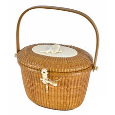 Jose Formoso Reyes, Nantucket basket purse, dated 1964 $1,500-2,500 on Bidsquare