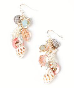 Another great find on #zulily! Treska Goldtone Sea Life Drop Earrings by Treska #zulilyfinds