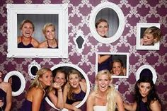 Could make a sports wall of fame photo booth/backdrop.  Including trophies, medals etc.