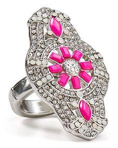 Aqua Pink Deco Ring | Bloomingdale's