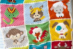 You are going to love these Corner to Corner Crochet Pattern Blanket Ideas and we have a Crochet Crowd Video Tutorial to show you how. Check out the ideas now.