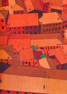 RIP, Yan Nascimbene: Stunning Illustrations of Italo Calvino Classics   Brain Pickings
