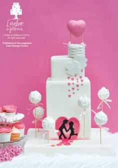 It is raining Love ! ~ simple and contemporary   ~ all edible