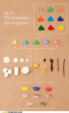#cupcake break down: the #infograph