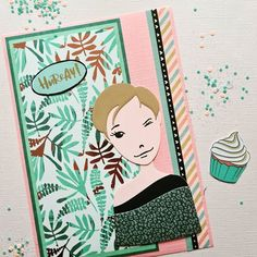 Mail Art Envelopes, Mama Elephant, Lawn Fawn, Hero Arts, Little Miss, Handmade Cards, Card Making, Bullet Journal, My Love