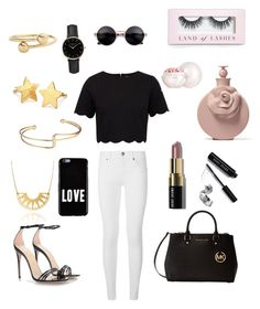 """""""⚫️⚪️⚫️⚪️⚫️⚪️"""" by hayatbabay on Polyvore featuring Ted Baker, Burberry, Gucci, Michael Kors, Givenchy, ROSEFIELD, Pernille Corydon, J.W. Anderson, Bobbi Brown Cosmetics and Boohoo"""