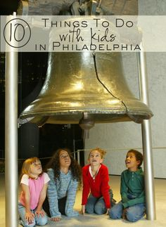 10 Things to Do with Kids in Philadelphia #visitphilly --> we LOVE philly and cannot wait to check out @Kate - The Shopping Mama suggestions!