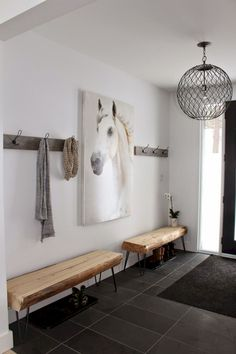 Modern touches entry way decor foyer decor home decor rustic farmhouse fa. Modern Entryway, Entryway Decor, Entryway Ideas, Entryway Hooks, Entrance Ideas, Small Entryway Bench, Foyer Furniture, Hallway Bench, Hallway Ideas